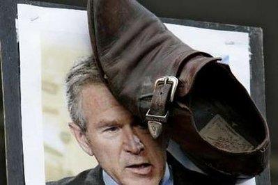 bush dan kasut