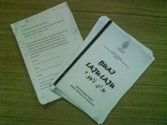 skrip teater Buai Laju-laju & Tun Kudu